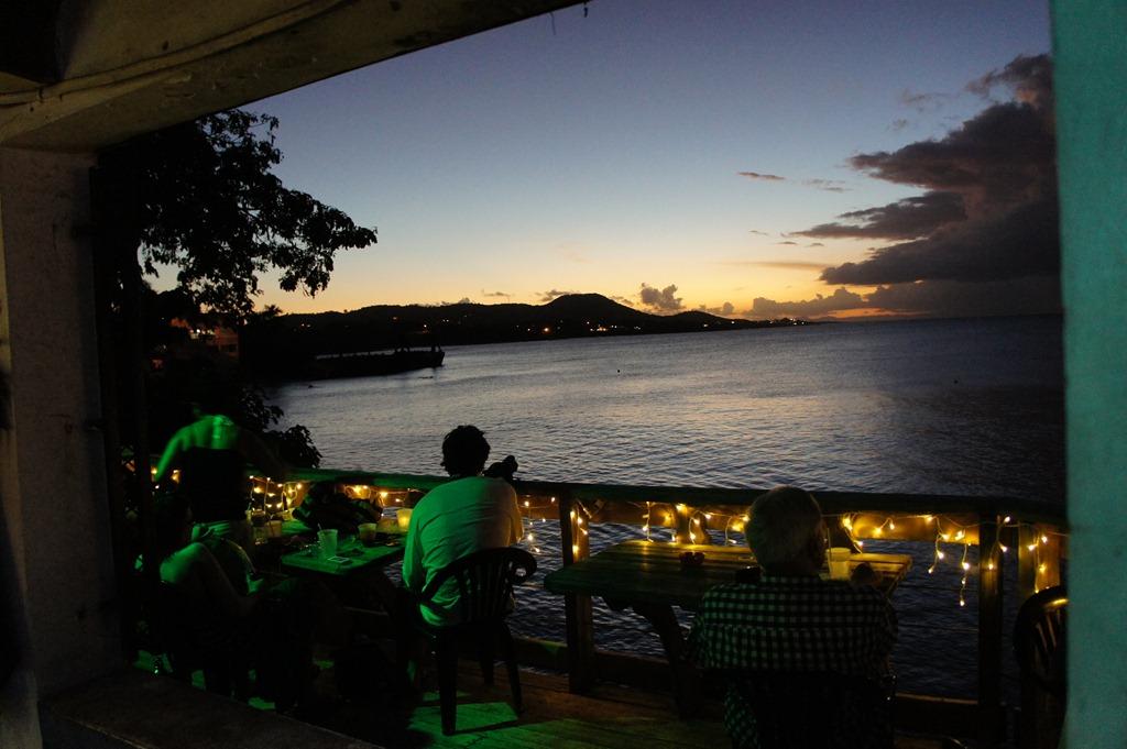Sunset and the Beach Bar