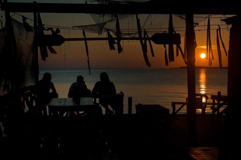 Sunset at the Beach Bar