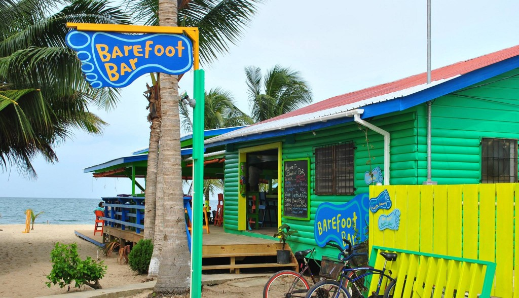 Barefoot Beach Bar, Placencia, Belize
