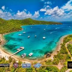 Photo of the Day – Pirates Bight Beach Bar, Norman Island, British Virgin Islands