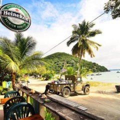 Photo of the Day – Corsairs Beach Bar, Jost Van Dyke, British Virgin Islands