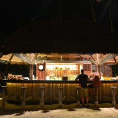 Thailand Beach Bars – Beach Bar at Haad Tien Beach Resort, Koh Tao