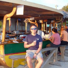 Anguilla Beach Bars:  Elvis' Beach Bar, Sandy Ground
