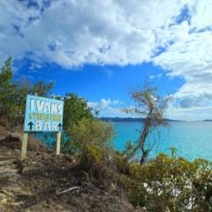 British Virgin Islands (BVI) Beach Bars – Ivan's Stress Free Bar, White Bay, Jost Van Dyke