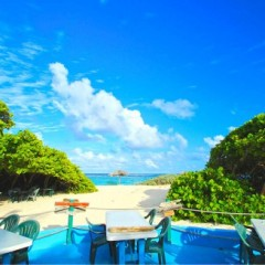 British Virgin Islands (BVI) Beach Bars – Big Bamboo Beach Bar, Loblolly Bay, Anegada