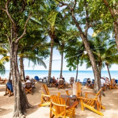 Guadeloupe Beach Bars:  Kawann Beach Bar, Deshaies