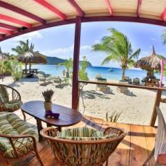 St. Vincent and the Grenadines Beach Bars:  Sparrow's Beach Club, Union Island