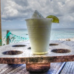 Photo of the Day:  Frozen Margarita at Shipwreck Beach Bar, St. Kitts