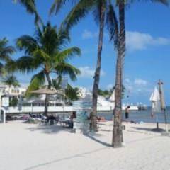 I Found a Sandy Beach in Key West!