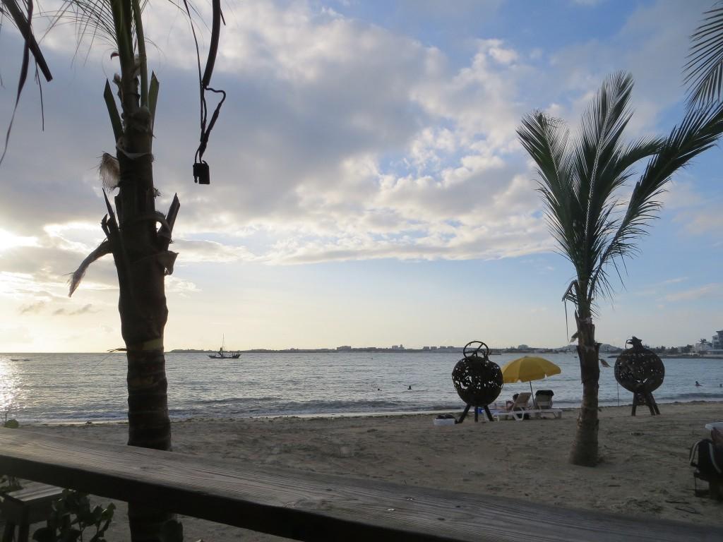"""Simpson Bay from Buccaneer Beach Bar, St Maarten. Credit flickr user """"alljengi"""""""