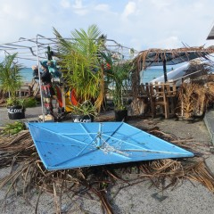 St. Maarten Beach Bars Continue Recovery From Gonzalo