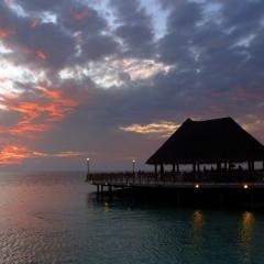 Sundown at Sundowners, Bandos, Maldives