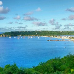 View of Road Bay, Sandy Ground, Anguilla
