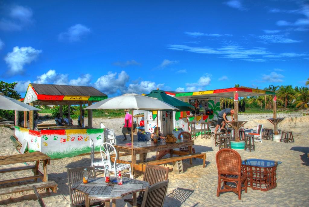 beach bar, caribbean