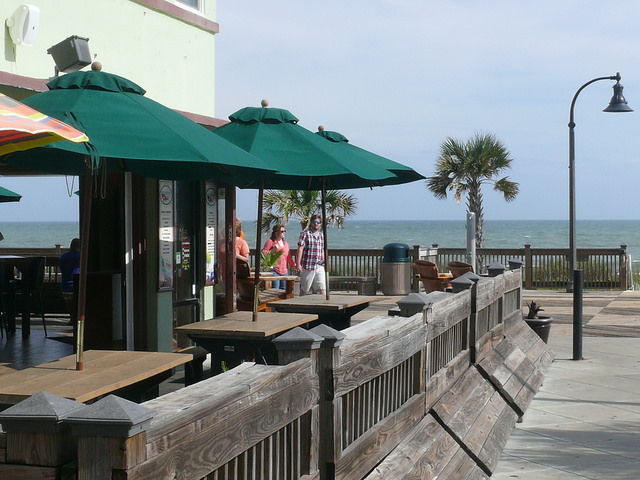 "Oceanfront Bar & Grill, Myrtle Beach. Credit flickr user ""marada"""