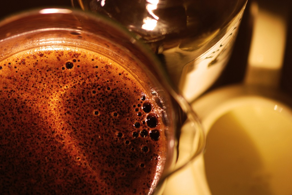 Irish Coffee. Photo by Janet Ramsden.