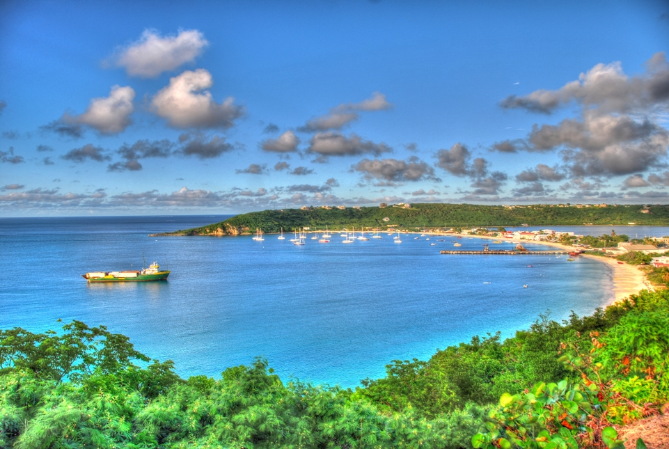 View of Road Bay/Sandy Ground, Anguilla