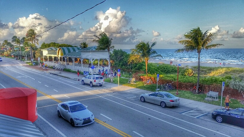 View from 50Ocean, Delray Beach, Florida.