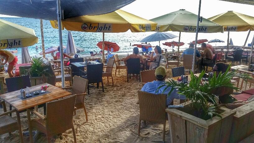 Karakter Beach Bar, St. Maarten