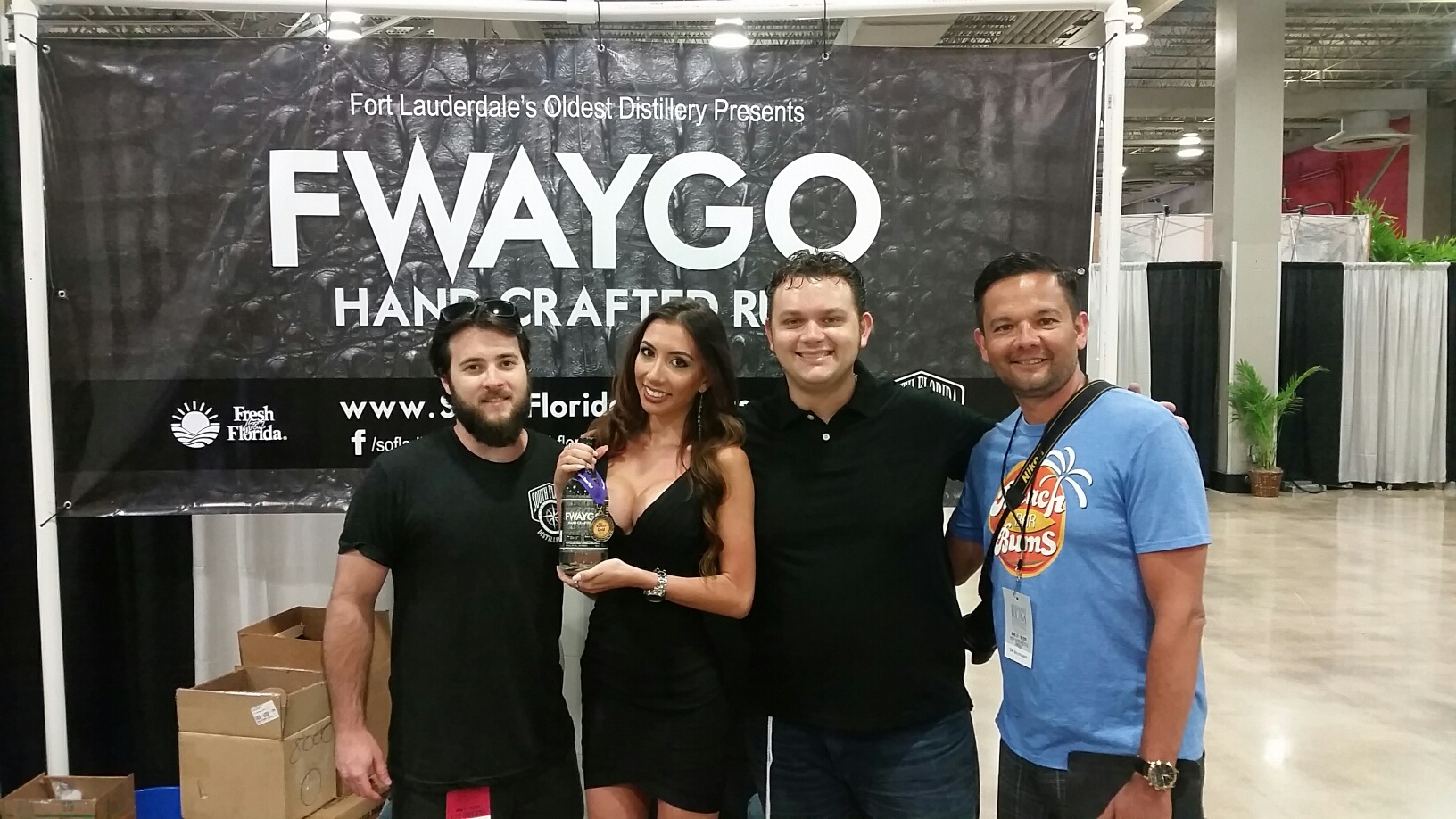 Fwaygo Rum, manufactured just down the road from Miami in Ft. Lauderdale.