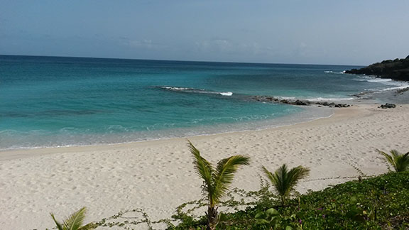 Site at Indigo Bay for future Blue Water Bar and Grill, St. Maarten