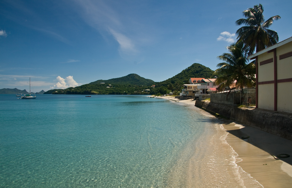 View of the beach in Hillsborough,Carriacou, Grenada. Image by  Jason Pratt.