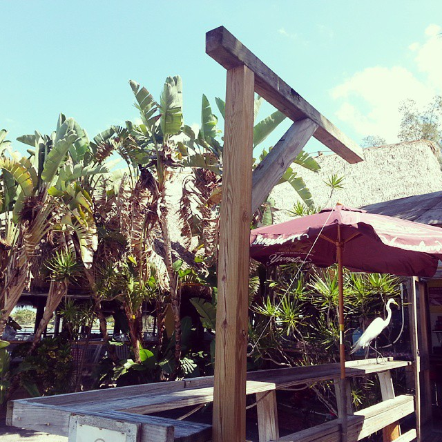 Conchy Joe's, Jensen Beach, Florida. Image by Instagram user @beachesbarsandbungalows