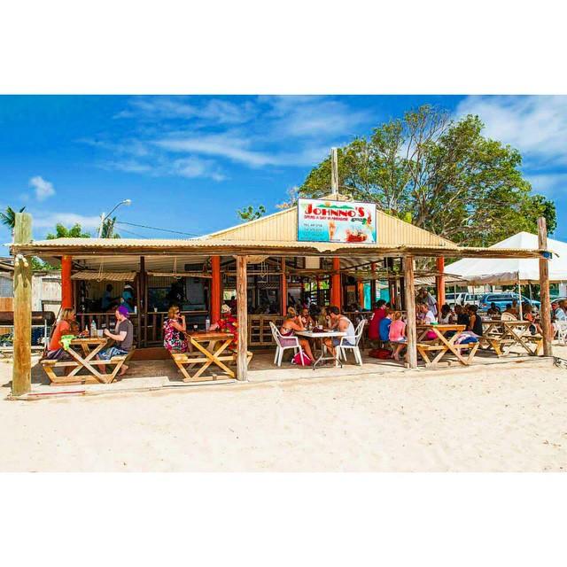 Johnno's Beach Stop, Sandy Ground, Anguilla. Image by Instagram user @johnnosbeachstop