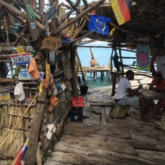 Beach Bar Bums Take Over Floyd's Pelican  Bar in Jamaica