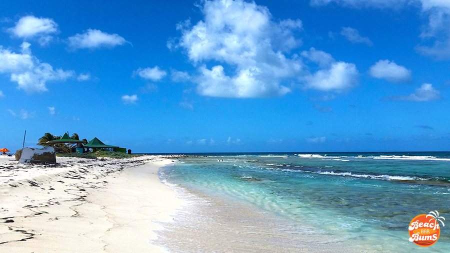 East shore of Sandy Island, Anguilla