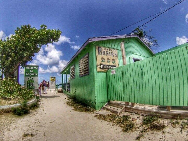 Uncle Ernie's Beach Bar, Shoal Bay East, Anguilla