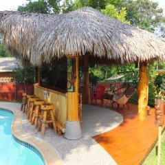 We Built Our Own Beach Bar – The Enchanted Tiki Lounge