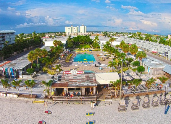 The Beach Bars of St. Pete Beach, Florida