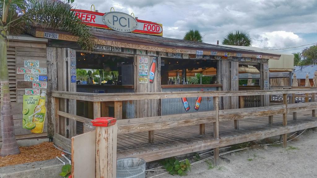 Beach Bar at the Postcard Inn on the Beach, St. Pete Beach,  Florida