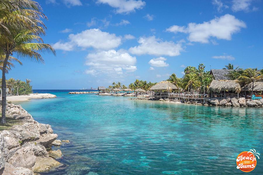Lagoon at Hemingway Beach Bar in Curacao