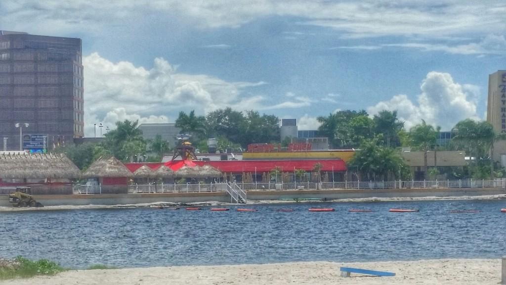 View of Hogan's Beach, Tampa Bay, Florida
