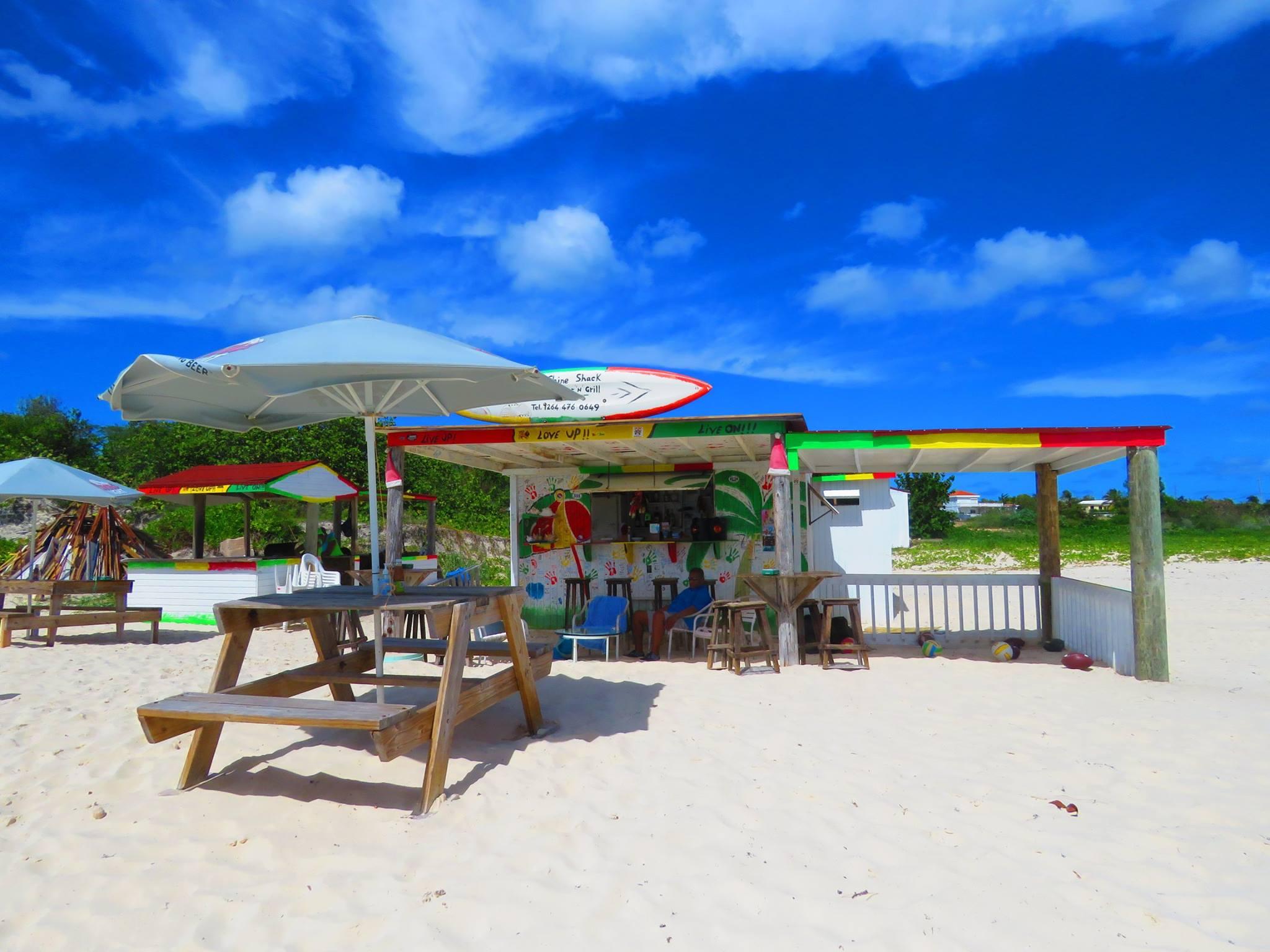 Sustainable Beach Bars Sunshine Powers Anguilla S