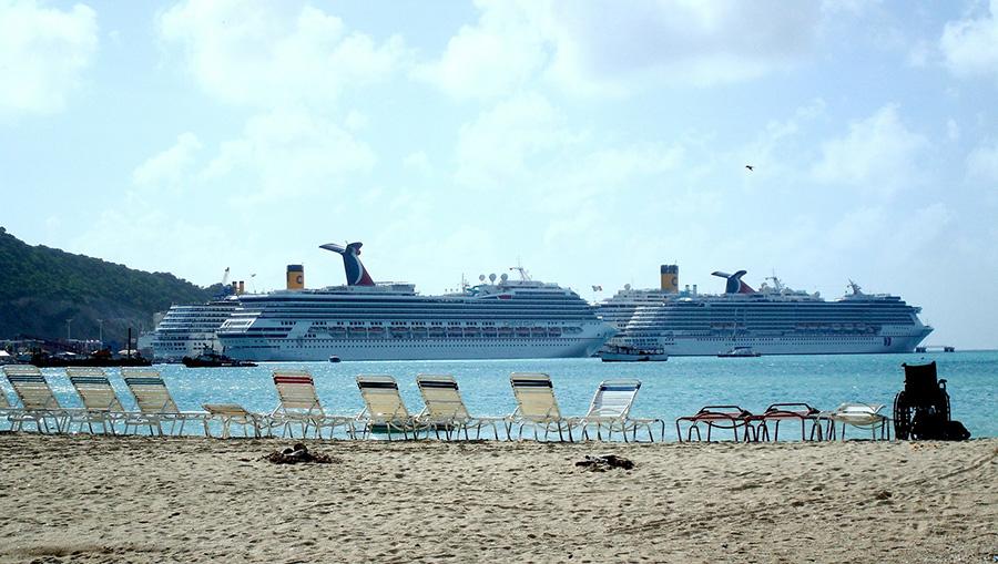 caribbean, beach, st. martin