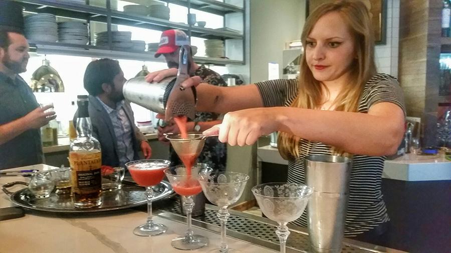plantation rum, cocktails