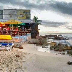 St. Maarten's Sunset Beach Bar Features New Look