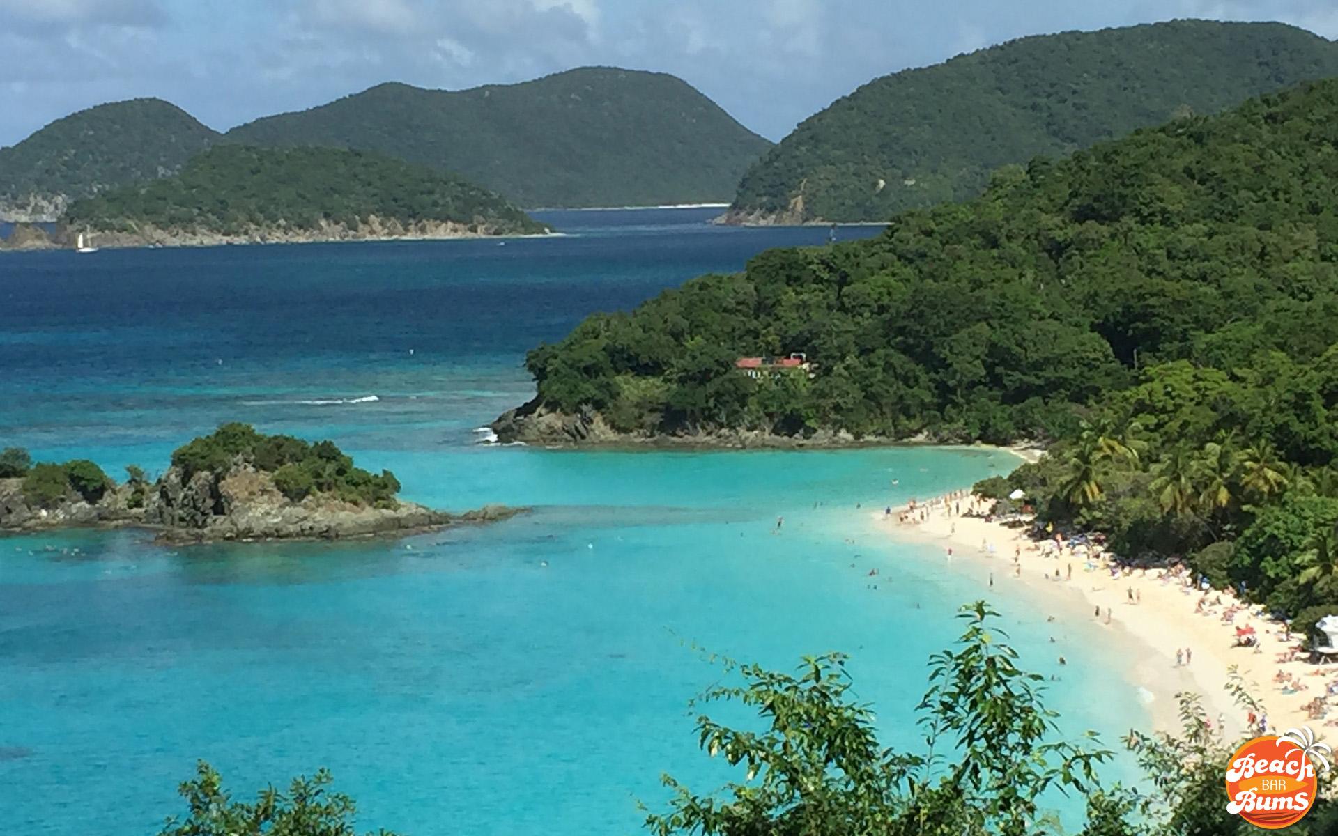 TRUNK BAY in St John Virgin Islands YouTube