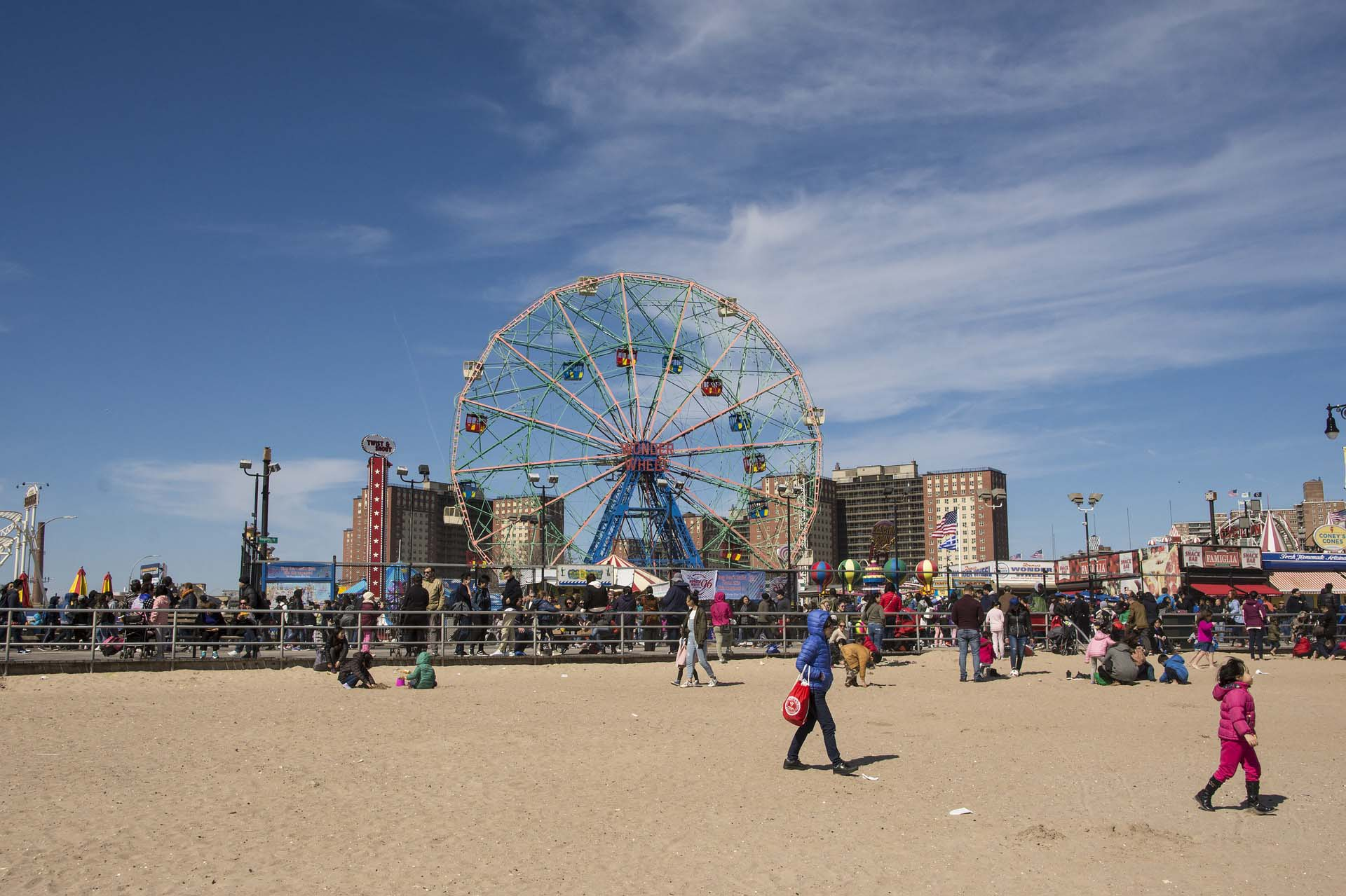 Rockaway Beach Or Coney Island