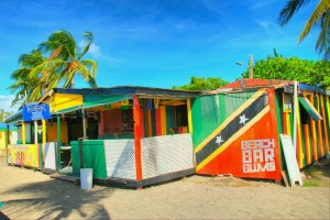 Cathy's Beach Bar, St. Kitts