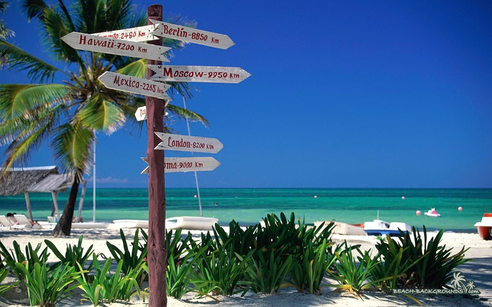 Santa Lucia Cuba Beach Wallpaper 16801050 Beach Bar Bums