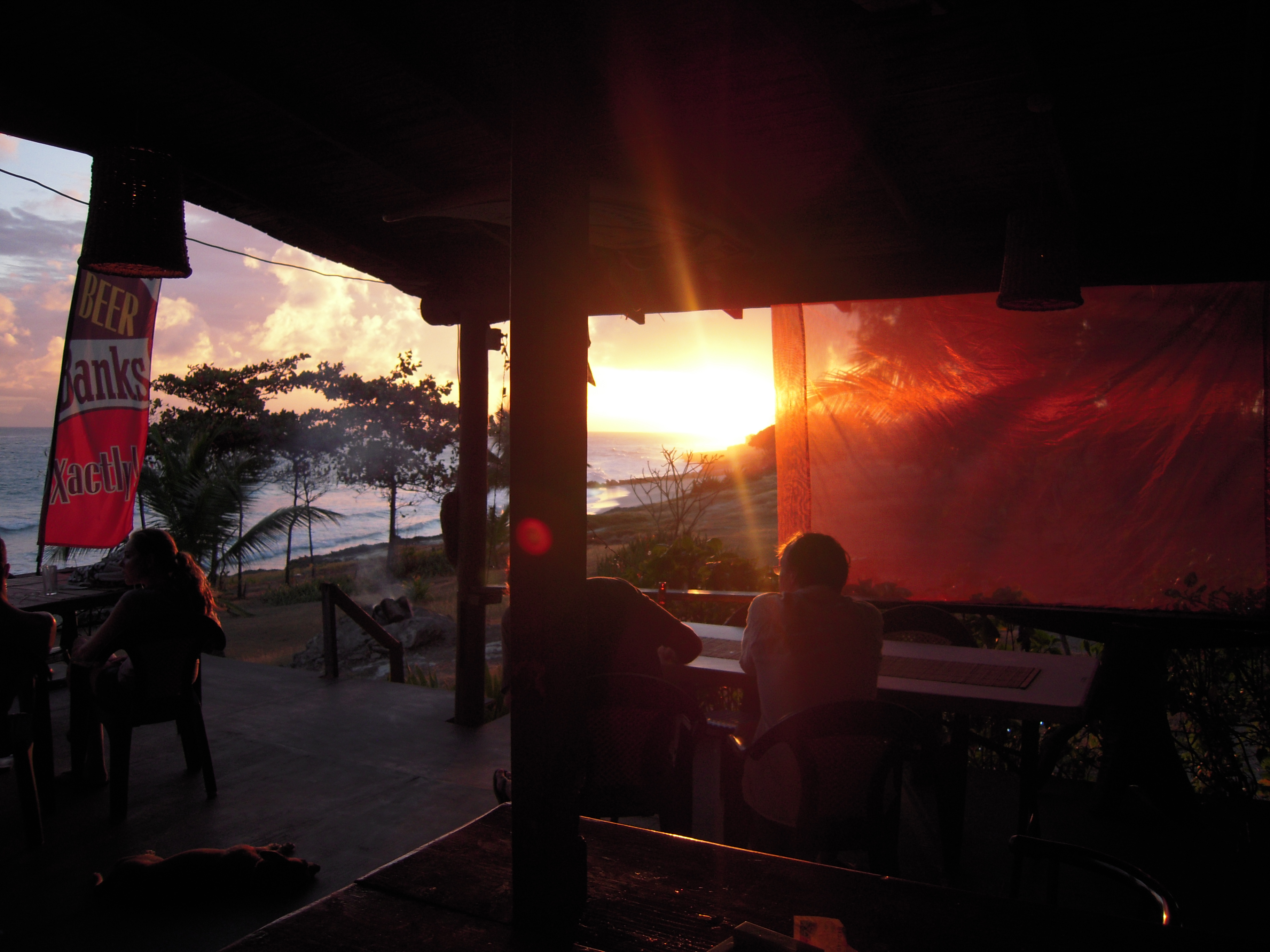 Surfer's Bay Beach Bar in Barbados