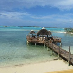 Bahamas Beach Bars:  Frankie Bananas Beach Bar, Exuma