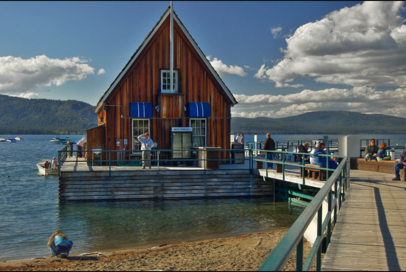 Chambers Landing on Lake Tahoe