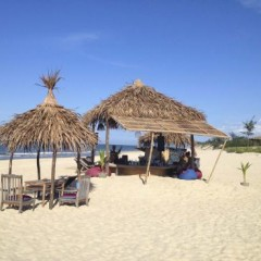 Vietnam Beach Bars – The Beach Bar at Phu Thuan Beach, Hue