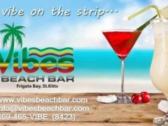 St. Kitts Beach Bars – Vibes Beach Bar, Frigate Bay