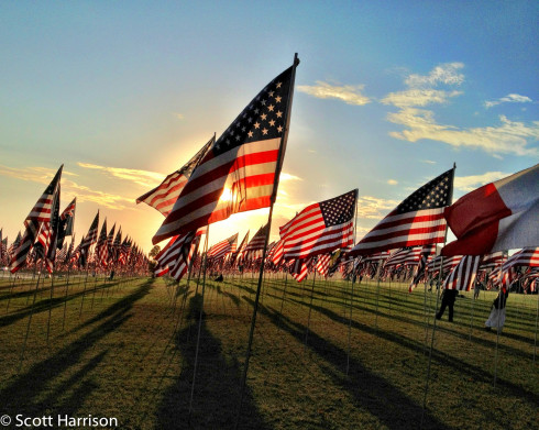 Pepperdine 9/11 Flags